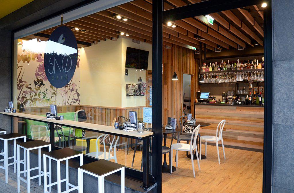 SNØ café
